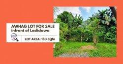 Lot for Sale in Awhag Subdivision near Ladislawa Bacaca Davao City Prop no. 3776